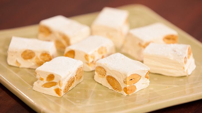 Kirsten Tibballs (Savour Chocolate & Patisserie School) explains you how to make a perfect nougat #nougat #recipe