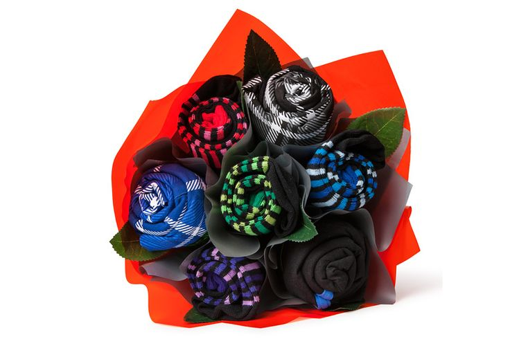 socks and underwear bouquet for men...turn something practical into something cute!