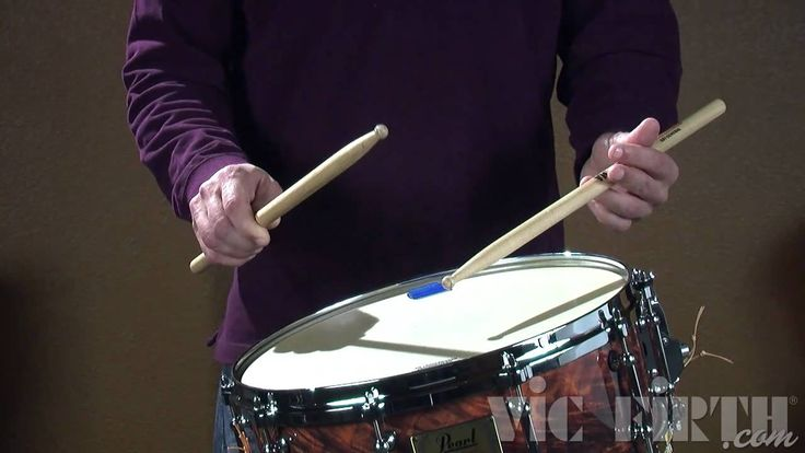 Vic Firth Rudiment Lessons: Multiple Bounce Roll Learn how to play concert snare rolls and more. Parents, get a practice pad if you can't stand the noise in the house!