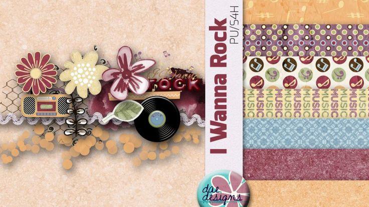 I Wanna Rock by Dae Designs