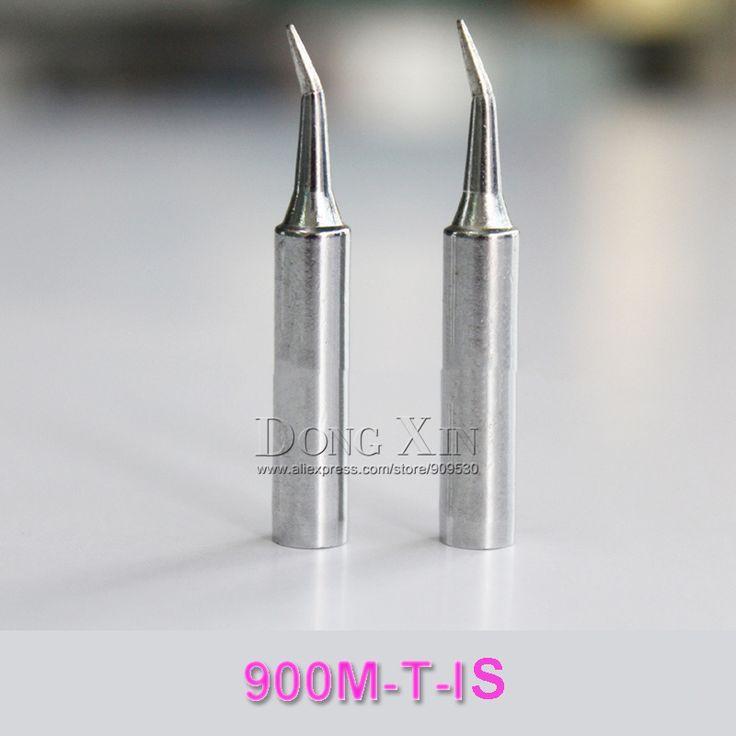Lead-free solder Iron tip 900M-T-IS for hakko SAIKE ATTEN AOYUE YIHUA soldering rework station freeshipping 10 pcs /lot