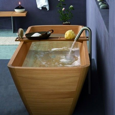 Natural Bathroom Furniture Bath