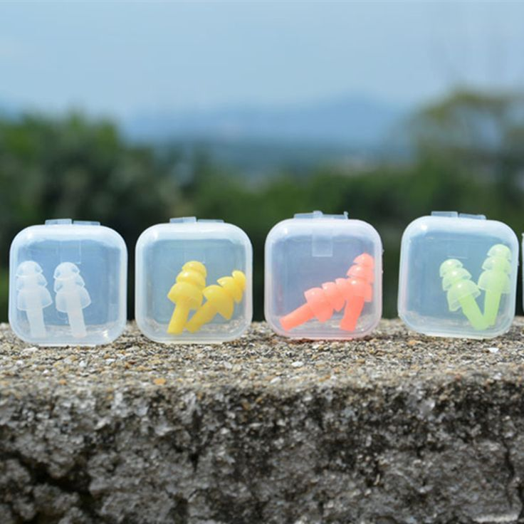 Adult Swim Ear Plug Soft Silicone Swimming Ear Plugs Water Swim Sports Gear Accessories Water Sports Adult Ear Plugs
