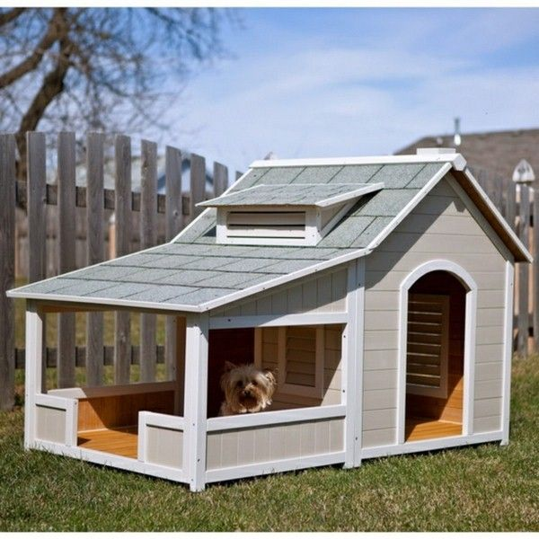 Best 25 luxury dog house ideas on pinterest outdoor dog for Zero dog house