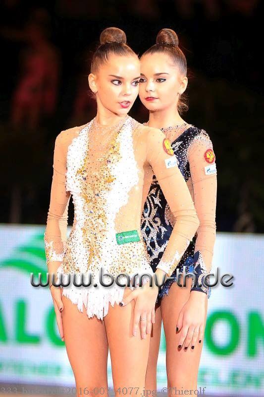 Dina & Arina AVERINA (Russia) ~ Gala Show after GP Bukarest 2016 Photographer Bernd Thierolf.