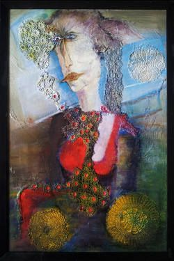 """Saatchi Art Artist Rudina Pema; Painting, """"FATA MORGANA"""" #art"""