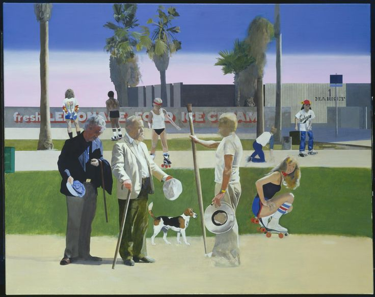 Peter Blake, ''The Meeting' or 'Have a Nice Day, Mr Hockney'' 1981–3