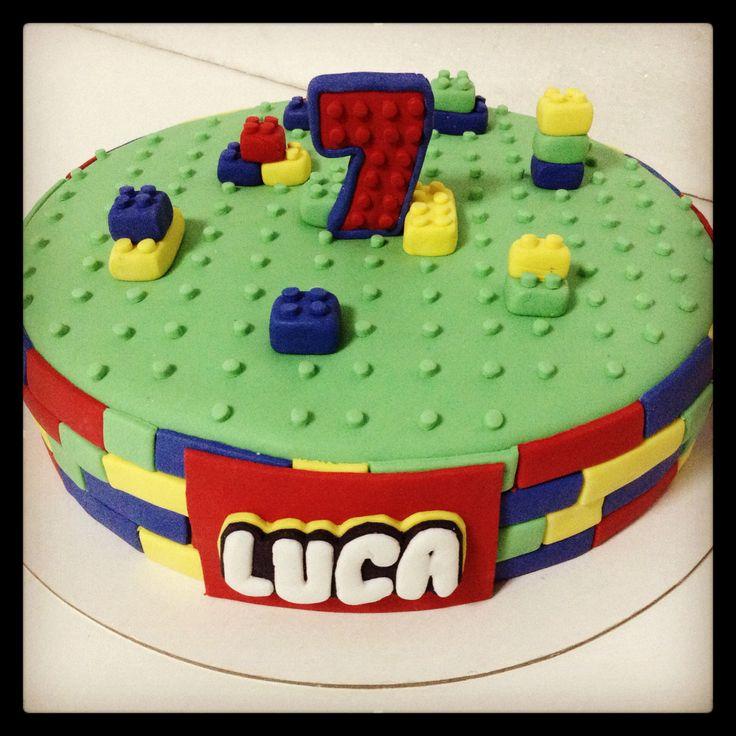 Torta Lego Lego Cake Lego Torte E Biscotti Pinterest