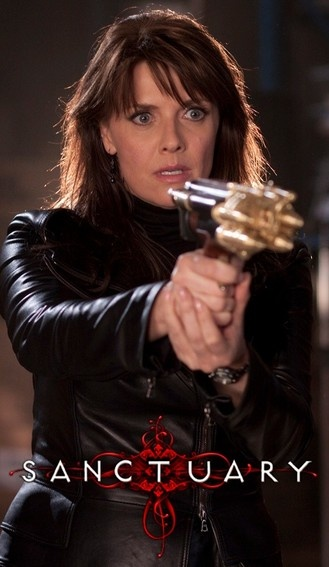 Amanda Tapping in Sanctuary