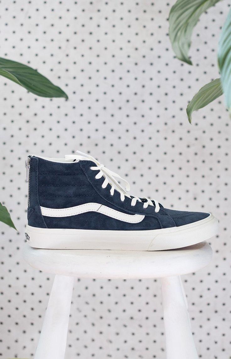 Vans Sk8-Hi Slim Zip Sneakers Blue