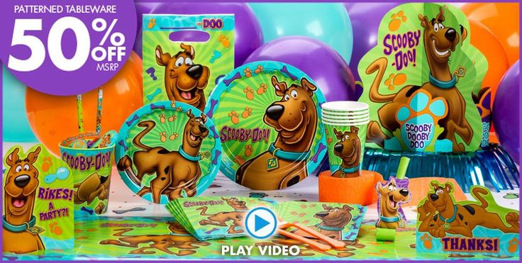 Click Here For Scooby-Doo Party Ideas
