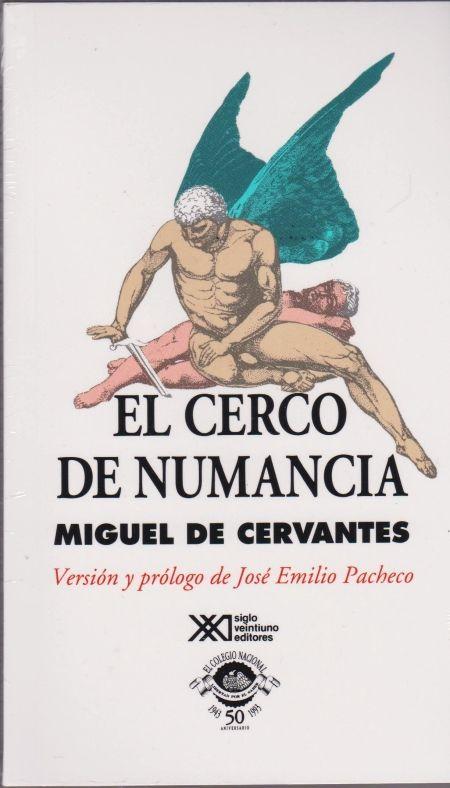 Título :El cerco de Numancia / Miguel de Cervantes ; edición de Robert Marrast Publicación Madrid : Anaya, 1961  Autor :Cervantes Saavedra, Miguel de, 1547-1616 SIGNATURA: L6t-CERVANTES-cer http://kmelot.biblioteca.udc.es/record=b1496118~S10*gag