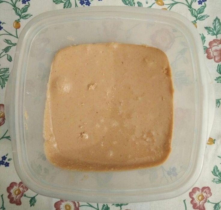 Crema de cacahuete.