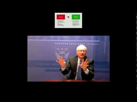 """""""What is Strategy?"""" Michael Porter explains what strategy is, and also that most businesses do not grasp the true meaning of strategy. Strategy is about creating a unique competitive position."""
