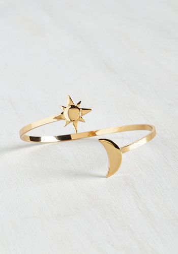 Astronomy and You Bracelet - Gold, Casual, Quirky, Good, Cosmic
