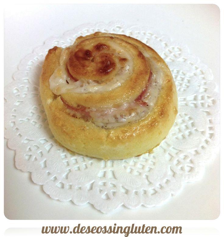 Deseos Sin Gluten: ESPIRALES DE JAMÓN Y QUESO SIN GLUTEN ( RECETA CON...