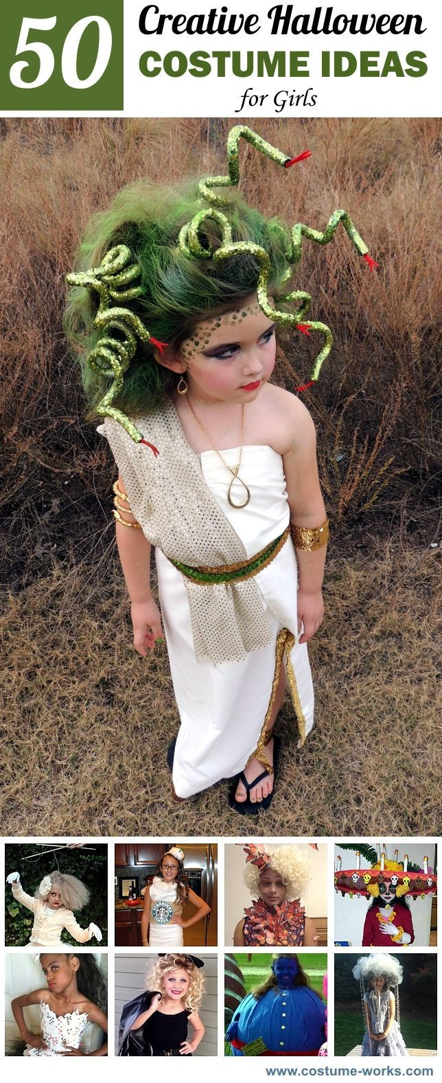 Halloween is one of the most magical times of the year. It's also a time when creative Halloween costumes pop up for a fun night of trick-or-treating. If you're looking for creative Halloween costume ideas, see what other young girls have been turning out this year.