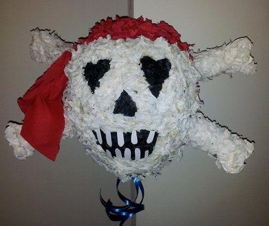 Tuto fabrication piñata pirate