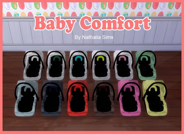 Baby Comfort and Carriage at Nathalia Sims • Sims 4 Updates