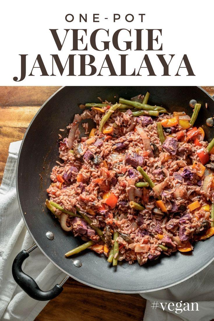 One Pot Vegan Jambalaya