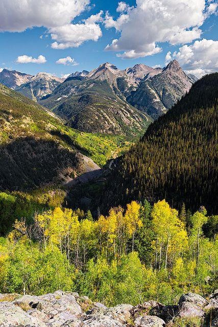 Grenadiers Range, San Juan Mountains in southwestern Colorado; photo by .Guy Schmickle