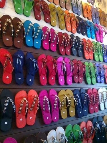 pratunam market bangkok flip flops sandals flip. Black Bedroom Furniture Sets. Home Design Ideas