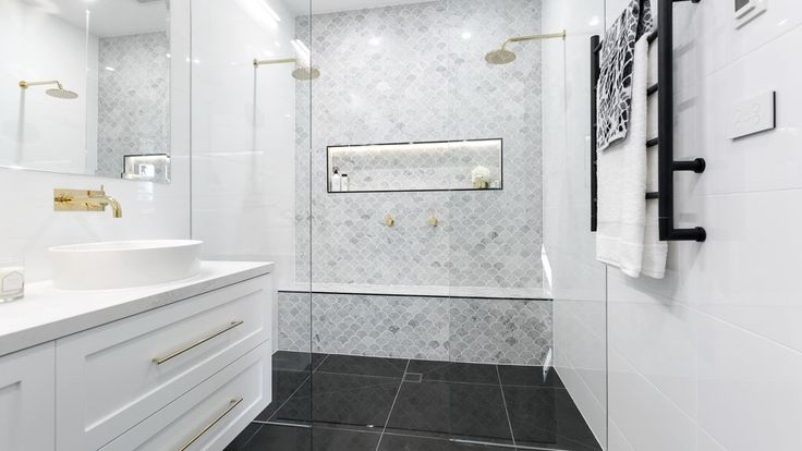 Image result for the block bathrooms