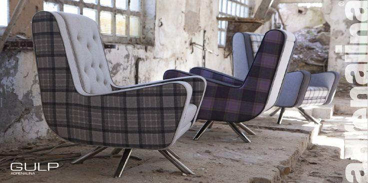 GULP armchairs by Domingo