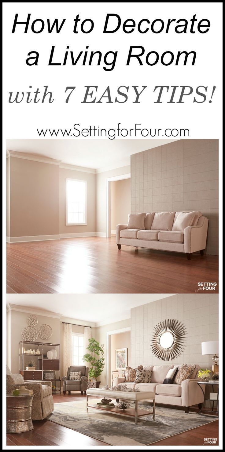 How To Decorate A Living Room With 7 EASY TIPS! See How At Www. Part 42