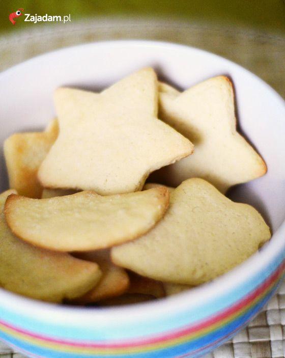Kruche ciasteczka migdałowe / Almond shortbread cookies /