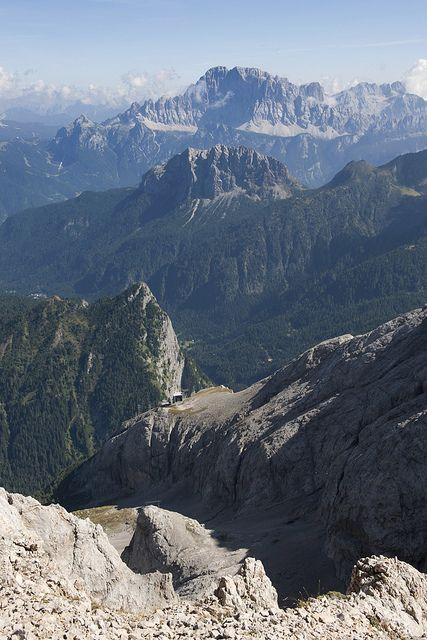 Monte Civetta (3220 m), Veneto, Italy