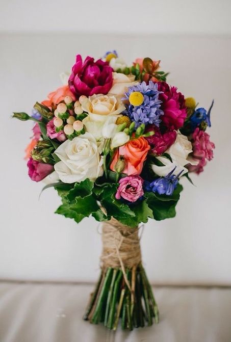 Find This Pin And More On Colorful Wedding Bouquets By Exclusivelywed