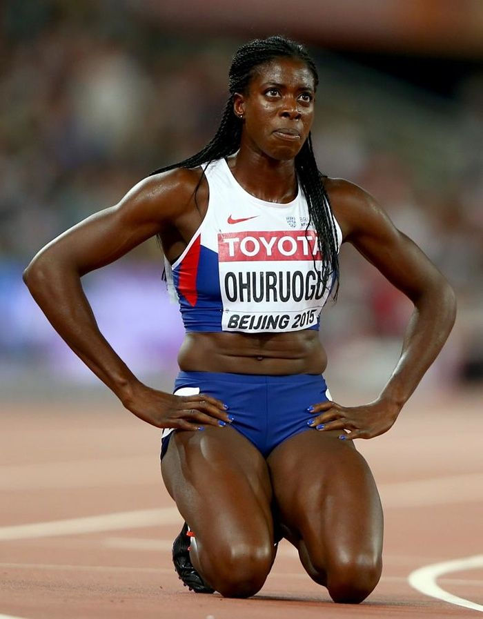 World Athletics Championships 2015: day six – in pictures | Sport | Christine Ohuruogu's disappointment is obvious after the women's 400m final