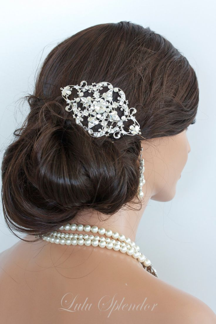 9 best beaded hair accessories images on pinterest | wedding hair