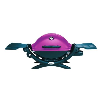 Pink Weber Q1200LP Tabletop Grill at Ace Hardware