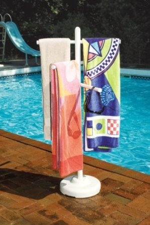 For Mom and Dad...Amazon.com: Hydro Tools 89032 Poolside Towel Rack: Patio, Lawn & Garden