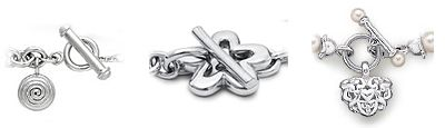 Jewelry Clasp Designs: All About Toggle Clasps