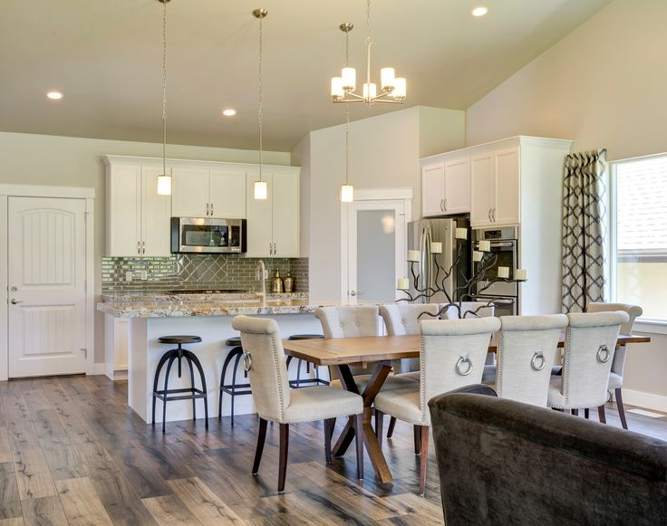 Gorgeous White Kitchen In North Salt Lake City, Utah By D.R. Horton  #FindYourHome