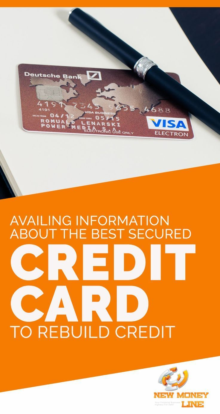 Availing Information About The Best Secured Credit Card To Rebuild Credit. People are often faced with debt issues and get into bad credit problems, not knowing what to do next for settling their debts and improve their credit once again. Different ways do exist for repairing the factors which may affect the credit score.