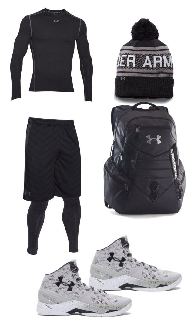 """""""Untitled #146"""" by jamison24 on Polyvore featuring Under Armour, men's fashion and menswear"""