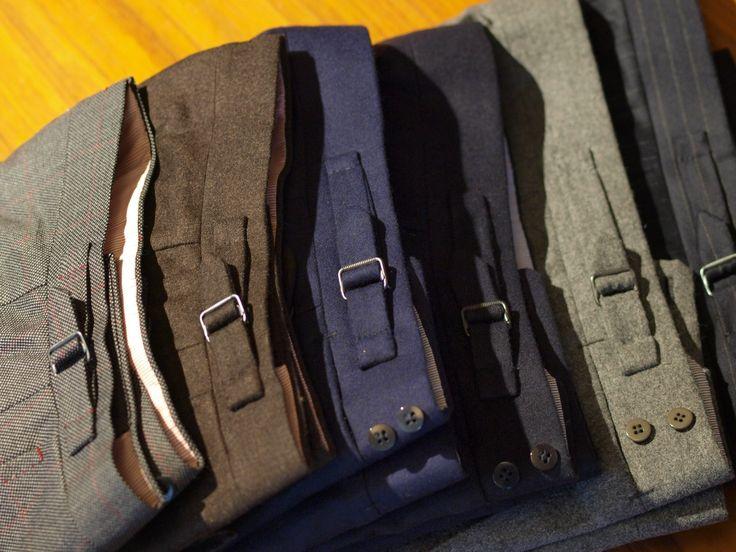 Side straps by Zaremba