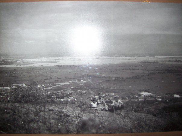 Laguna de Aguablanca (foto tomada desde Cristo Rey) en 1950.