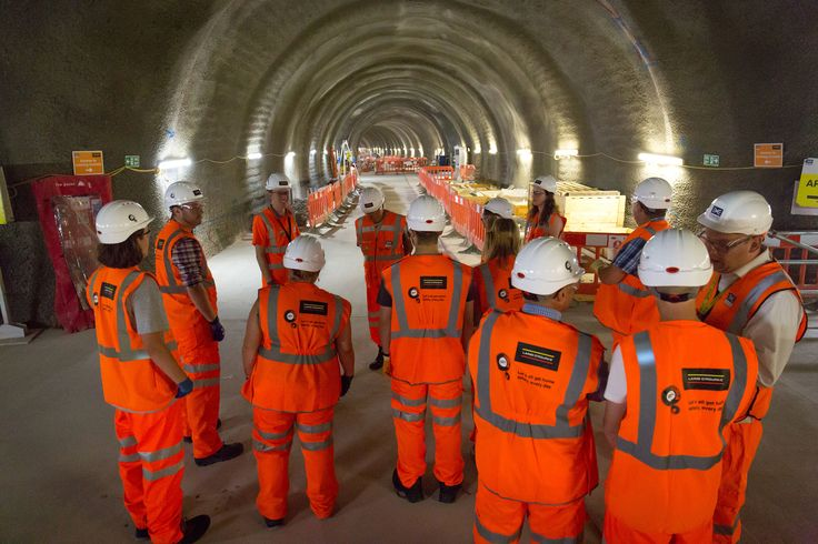Exploring Crossrail's Tottenham Court Road site