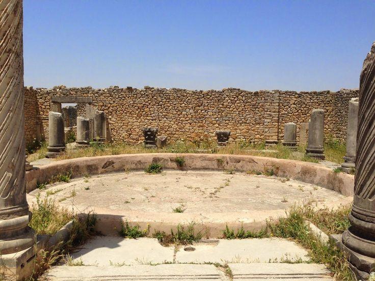 Volubilis : Ruine romaine ( Maroc ) - Carnet de Voyage