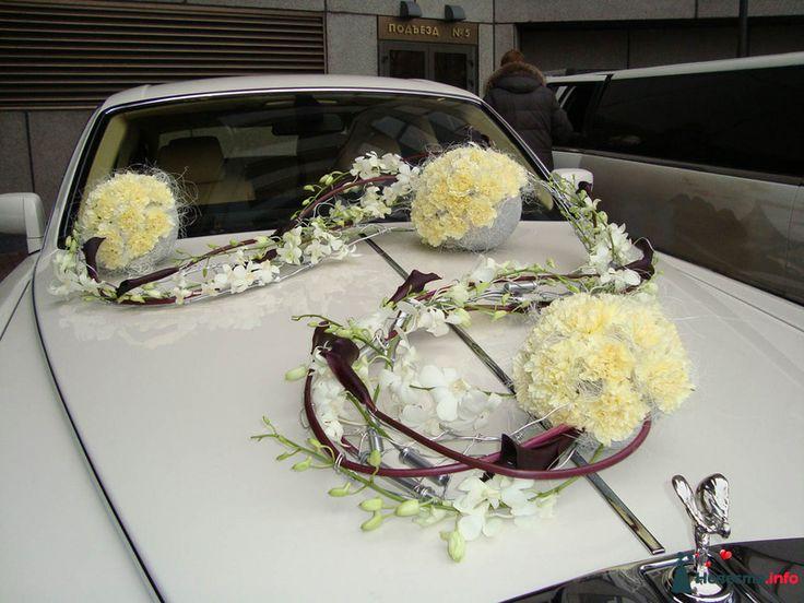 Украшение машин на свадьбу | 770 Фото идеи | Страница 2