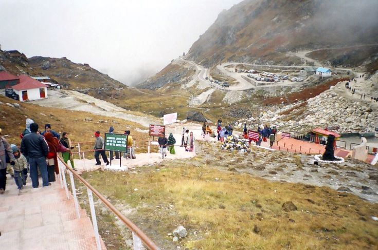 Nathula Pass was a major corridor of passage between India and Tibet before it was closed in 1962. Located around 56 kms from Gangtok at an altitude of 14450 ft, the road to Nathula passes through the Tsomgo lake. It is one of the highest motorable roads in the world and is richly surrounded by alpine flora. On a clear day you can even see the road winding down the Chumbi valley.
