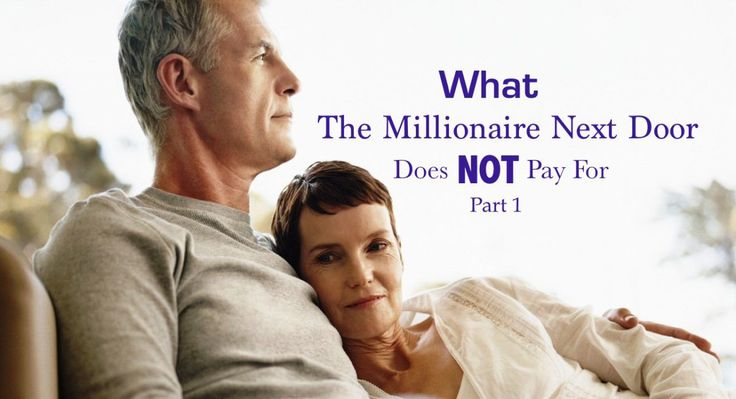 5 Things the Millionaire Next Door Doesn't Pay For... Part 1 #EagleSoaringHigher #MillionaireNextDoor wp.me/p6odYK-i