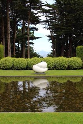 Perfect reflection at Larnach Castle, Dunedin  Taken by KC Photography