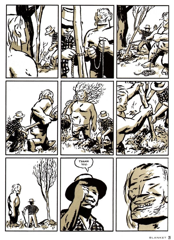 "Rubber Blanket #3 (""Big Man"" - Rubber Blanket Press - 1993) Writer/Illustrator: David Mazzucchelli"