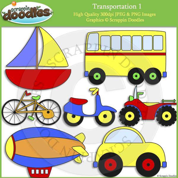 Transportation 1 Clip Art
